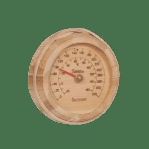 round sauna thermometer