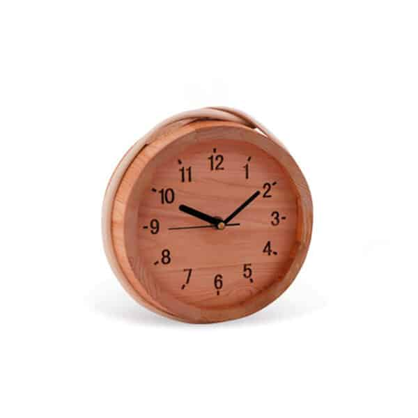 cedar indoor sauna Wooden Clock