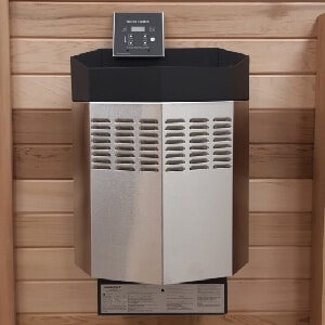HOMECRAFT Electric Heater 5 KW.<br>With digital control and heater stones.