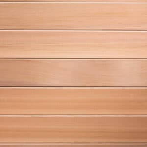 Premium grade Clear red western cedar.<br>1×4 11/16 T&G cedar lining for walls & ceiling.