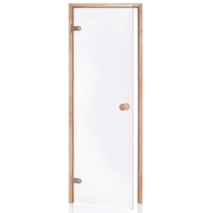 Alder Frame Door<br>Clear Glass<br>690x2090mm<br>(27 1/8″ x 82 1/4″)<br>Left or Right Hand Opening