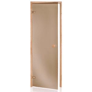 Alder Frame Door<br> Bronze Glass<br>690x1890mm<br>(27 1/8″ x 74 3/8″)<br>Left or Right Hand Opening