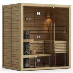1420M Cedar Sauna Room, Front Glass