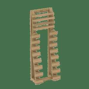 Spinal backrest, Cedar, 514-D