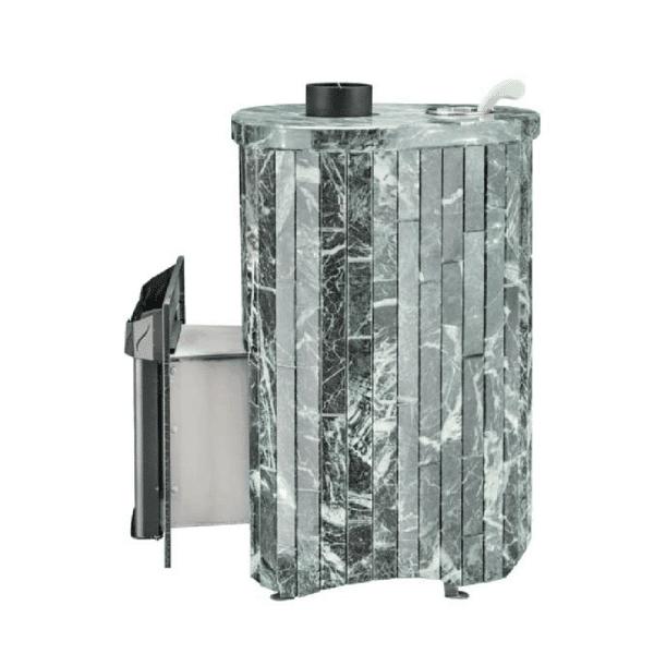VÖHRINGER Mini StoneWood-Burning Sauna Heater / Stove Up to 635 cubic feet sauna