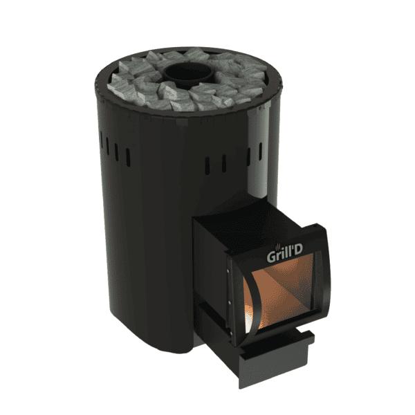 Bochky Mini LongWood-Burning Sauna Heater / Stove