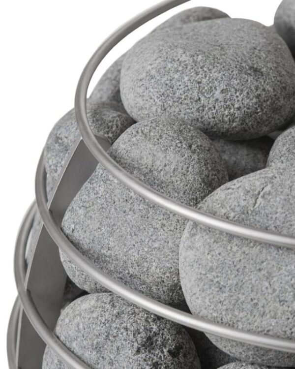 HUUM Stones for Sauna Heater15 kg ( 33 pounds )5-10 cm ( 2-4 inches )