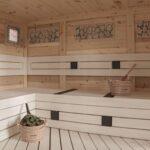 Outdoor Prefab Sauna Cabin 7.5 x 7.5