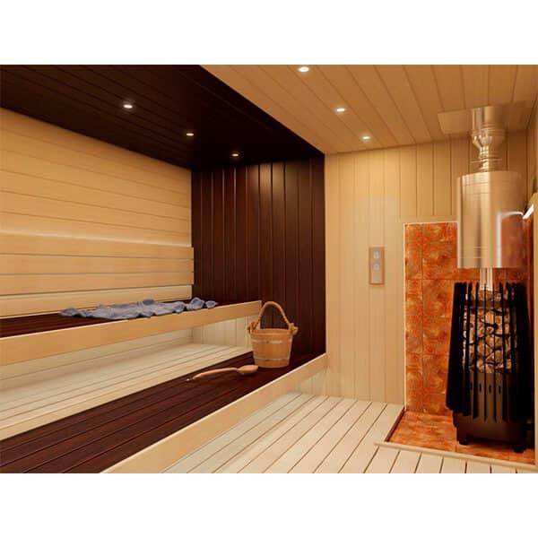 Grill'D Cometa 180 Vega LongWood-Burning Sauna Heater / Stove