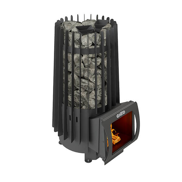 Grill'D Cometa 180 Vega Short MaxWood-Burning Sauna Heater / Stove